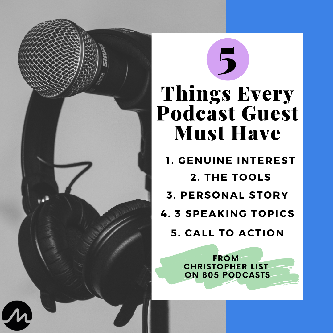 5 Things Every Podcast Guest Must Have
